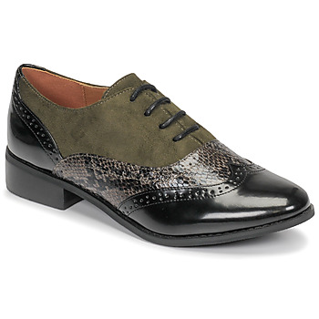 kengät Naiset Derby-kengät Moony Mood NOULIME Kaki