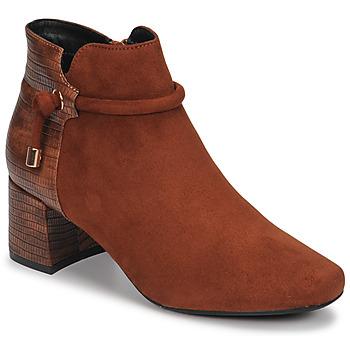 kengät Naiset Nilkkurit Moony Mood NANOU Camel