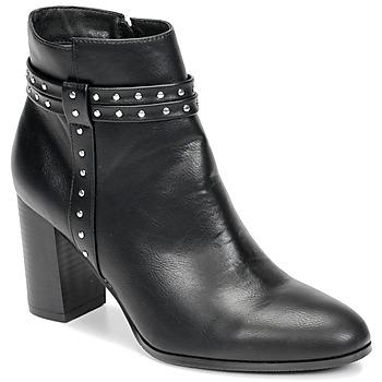 kengät Naiset Nilkkurit Moony Mood NINOU Black