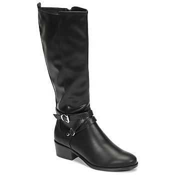 kengät Naiset Saappaat Moony Mood NELLE Black
