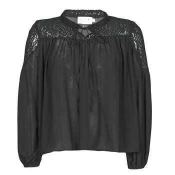 vaatteet Naiset Topit / Puserot Molly Bracken R1521H20 Black