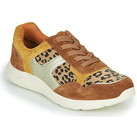 kengät Naiset Matalavartiset tennarit Damart 62328 Beige / Yellow