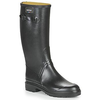 kengät Miehet Kumisaappaat Aigle CESSAC Musta