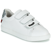 kengät Naiset Matalavartiset tennarit Bons baisers de Paname EDITH EYES Valkoinen