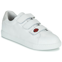 kengät Naiset Matalavartiset tennarit Bons baisers de Paname EDITH LEGENDE Valkoinen