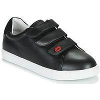 kengät Naiset Matalavartiset tennarit Bons baisers de Paname EDITH LEGENDE Musta