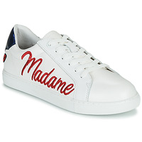 kengät Naiset Matalavartiset tennarit Bons baisers de Paname SIMONE MADAME MONSIEUR Valkoinen