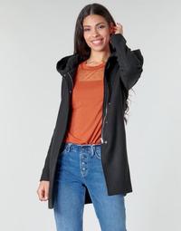 vaatteet Naiset Paksu takki Moony Mood NANTE Musta