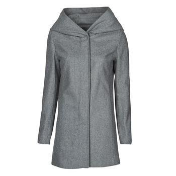 vaatteet Naiset Paksu takki Moony Mood NANTE Harmaa / Fonce