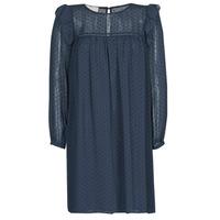 vaatteet Naiset Lyhyt mekko Moony Mood NIORT Laivastonsininen