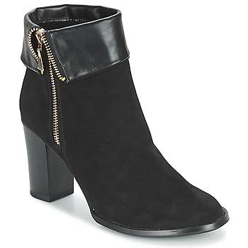 kengät Naiset Nilkkurit Moony Mood FRISETTE Black