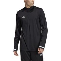 vaatteet Miehet T-paidat pitkillä hihoilla adidas Originals Team 19 Valkoiset,Mustat