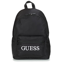 laukut Miehet Reput Guess QUARTO BACKPACK Black