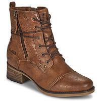 kengät Naiset Bootsit Mustang 1229508 Cognac