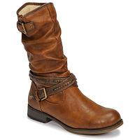 kengät Naiset Saappaat Mustang 1139624 Cognac
