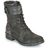 kengät Naiset Bootsit Mustang 1332506 Grey