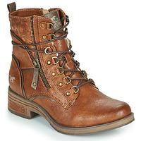 kengät Naiset Bootsit Mustang 1293601 Cognac