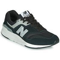 kengät Miehet Matalavartiset tennarit New Balance 997 Musta / Hopea