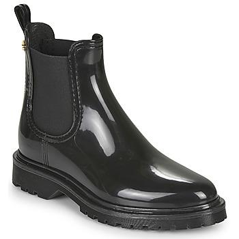 kengät Naiset Kumisaappaat Lemon Jelly BLOCK Black