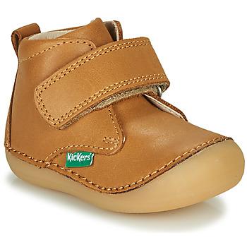 kengät Lapset Bootsit Kickers SABIO Camel