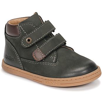 kengät Pojat Bootsit Kickers TACKEASY Kaki