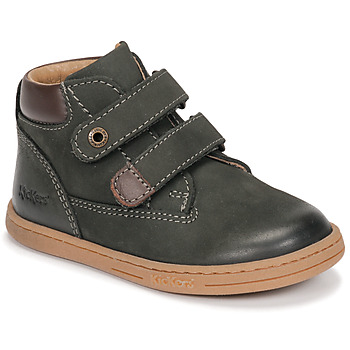 kengät Pojat Bootsit Kickers TACKEASY Khaki
