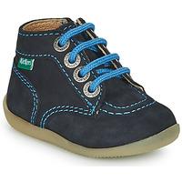 kengät Pojat Bootsit Kickers BONZIP-2 Laivastonsininen
