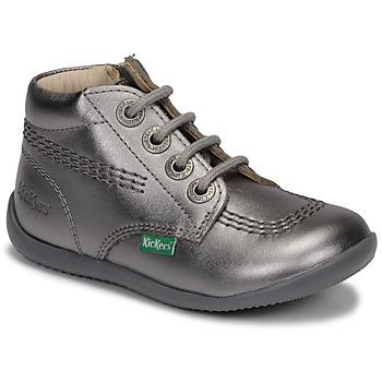 kengät Tytöt Bootsit Kickers BILLYZIP-2 Hopea