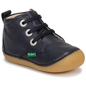 kengät Lapset Bootsit Kickers SONIZA Laivastonsininen