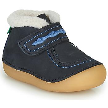 kengät Tytöt Bootsit Kickers SOETNIC Laivastonsininen