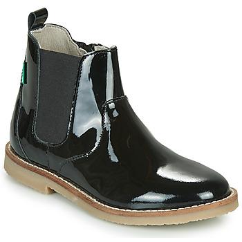 kengät Tytöt Bootsit Kickers TYPIK Black