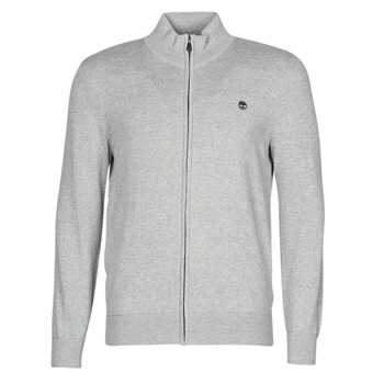 vaatteet Miehet Neuleet / Villatakit Timberland WILLIAMS RIVER FULL ZIP Grey
