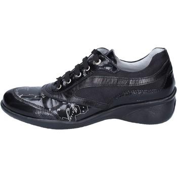 kengät Tytöt Matalavartiset tennarit 1A Classe Alviero Martini BM356 Musta