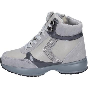 kengät Tytöt Matalavartiset tennarit Lumberjack sneakers camoscio pelle sintetica Grigio