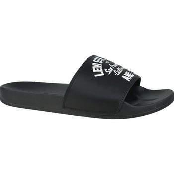 kengät Miehet Rantasandaalit Levi's June California Valkoiset,Mustat