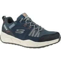 kengät Miehet Juoksukengät / Trail-kengät Skechers Equalizer 40 Trail Harmaat,Tummansininen