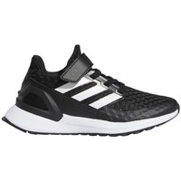 kengät Lapset Juoksukengät / Trail-kengät adidas Originals Rapidarun Valkoiset, Mustat