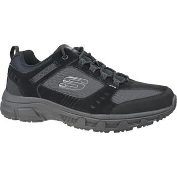 kengät Miehet Vaelluskengät Skechers Oak Canyon Mustat, Grafiitin väriset