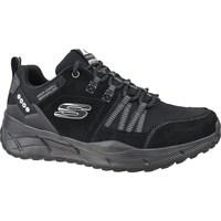 kengät Miehet Juoksukengät / Trail-kengät Skechers Equalizer 40 Trail Grafiitin väriset,Mustat