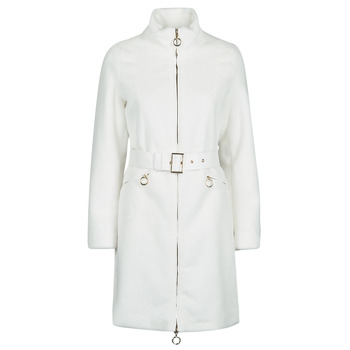 vaatteet Naiset Paksu takki Marciano MARBREE FUR COAT Creme