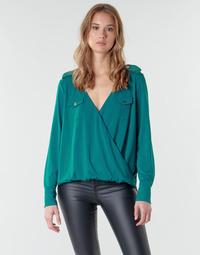vaatteet Naiset Topit / Puserot Marciano SALLY CREPE TOP Green