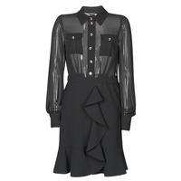 vaatteet Naiset Lyhyt mekko Marciano CAROL SHORT DRESS Musta
