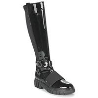 kengät Naiset Bootsit Philippe Morvan DARMY V1 VERNIS NOIR Musta