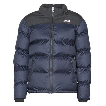 vaatteet Toppatakki Schott UTAH Laivastonsininen / Black