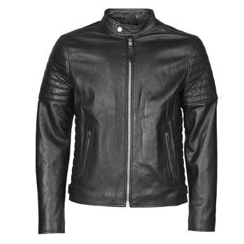 vaatteet Miehet Nahkatakit / Tekonahkatakit Schott LCJOE Black