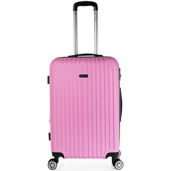 laukut Matkalaukut Itaca Kävi koulua Sevron Vaaleanpunainen