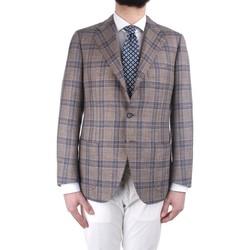 vaatteet Miehet Takit / Bleiserit Cesare Attolini S19MA44 M21 Multicolor