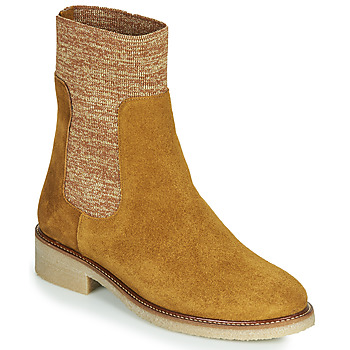 kengät Naiset Bootsit Bensimon BOOTS CHAUSSETTE Ruskea