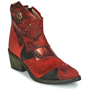 kengät Naiset Nilkkurit Casta DEMA Red