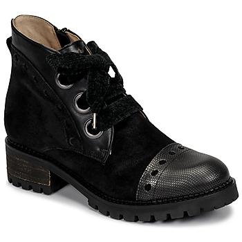 kengät Naiset Bootsit Casta MANDA Musta